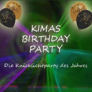 Kimas EDM-Farben Birthday Party