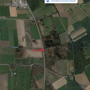 Parkplatz zwischen Graes und Heidehof